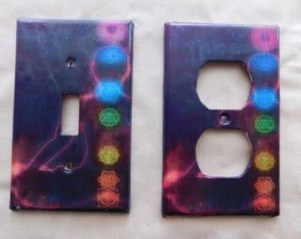 Chakra Switch Plates