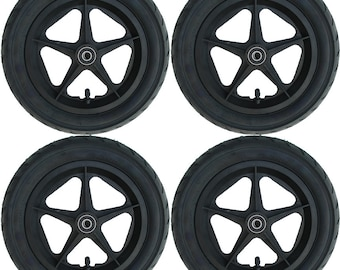 "4 x Soapbox Soapbox 12 ""plastic wheel plastic wheel"