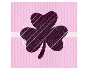 "Clover Shamrock St. Patrick's Day 5.5 x 5.5"" Stencil"