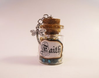 Faith Bottle Necklace