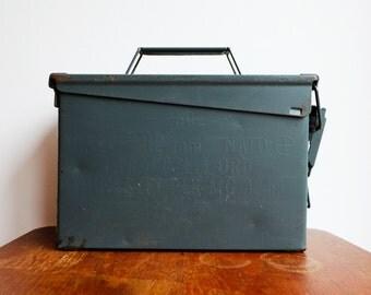 1969 Post War Nato Ammunition Box - 250 Cart 7.62 mm