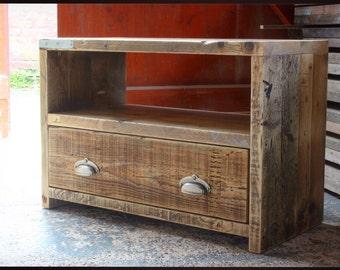 CARSON | Reclaimed Wood TV Table - Handmade & Bespoke
