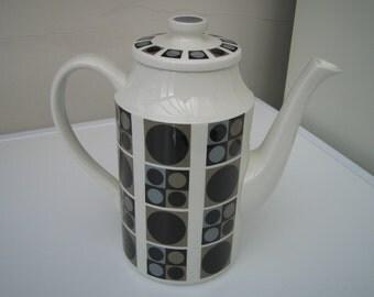 Midwinter Focus Coffee Pot c1960+