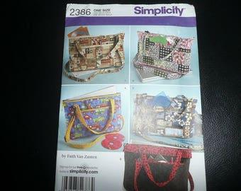 2 Simplicity, McCalls Laptop Sewing Patterns Uncut