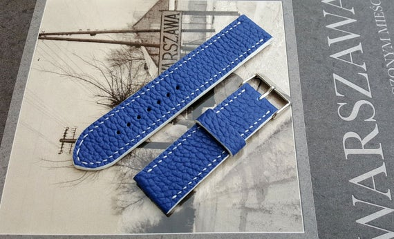 100% Handmade watch strap! Italian bovine leather