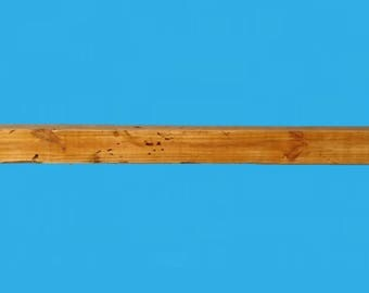 48 x 3.5 x 3.5 inch reclaimed wood floating shelf ,531-48