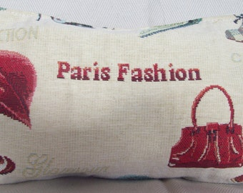 pochette PARIS FASHION cm 26x16 gobelin