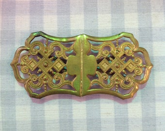 Antique Gold Buckle