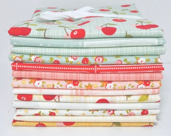 SALE!! 1/2 Yard Bundle Farm Girl by October Afternoon for Riley Blake Designs- 13 Fabrics