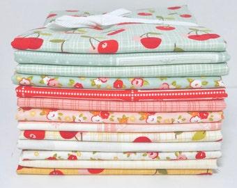 SALE!! 1/2 Yard Bundle Farm Girl by October Afternoon for Riley Blake Designs- 13 Fabrics