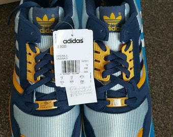 Adidas ZX 8000 ,us 12 1/2 ,  torsion vintage   new footwear