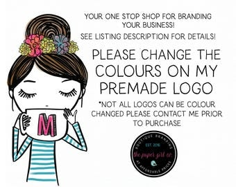logo graphics color change add-on for new logo purchases and previous logo purchases