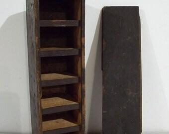 Vintage Handmade Wooden box - FREE SHIPPING!!!