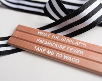 Pencils, Carpenter Pencil, Farmhouse Style, Housewarming Gift, Builder Thank You, Modern Farmhouse, Waco Texas, Shiplap Lover, Gift under 5