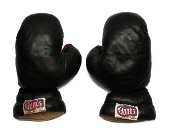Boxing gloves vintage etsy uk - Gants de boxe vintage ...