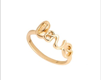 Love Ring Size US 6.5