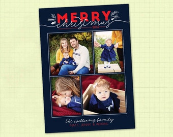 Photo Christmas Card / Photo Holiday Card / Digital Christmas Card / Digital Holiday Card