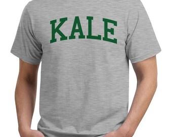 kale vegetable text funny tee t shirt funny joke tee
