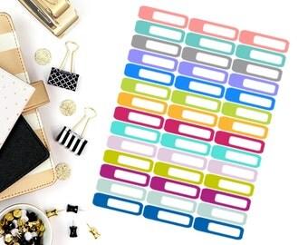 Mini Label Stickers! Perfect for your Erin Condren Life Planner, calendar, Paper Plum, Filofax!