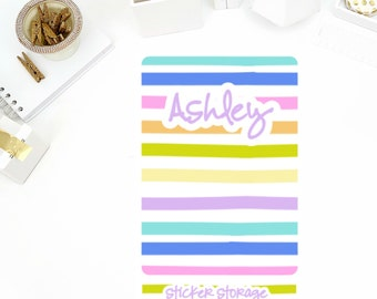 Customized Happy Times Mini Binder Cover! Perfect for the Mini or Standard Binders!