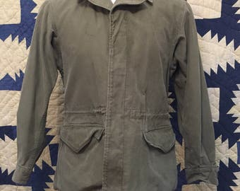 Vintage WW2 Era Modified M-1943 Field Jacket Size 38/40