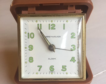 Vintage Phinney Walker Travel Clock