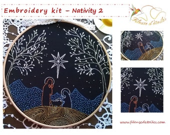 "Shop ""christmas embroidery"" in Art & Collectibles"