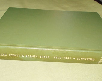 Butler County's Eighty Years 1855 - 1935 by Jessie P Stratford - Kansas History