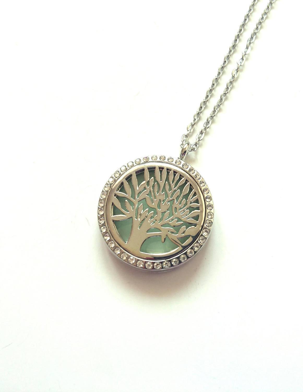 Tree of life necklace family tree aqua glow in the dark glowing tree of life necklace family tree aqua glow in the dark glowing necklace negle Images