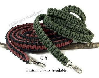 Paracord Dog Leash - Custom Handmade / Paracord Leash / Pet Leash / Dog Leash / Pet Leash / Custom Leash / Handmade Leash