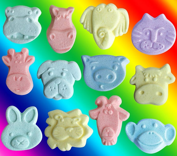Bath Bombs for Kids! (set of 2)