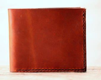 Men's Leather wallet/ Men's Wallet/ Leather Wallet/ Handmade Leather Wallet