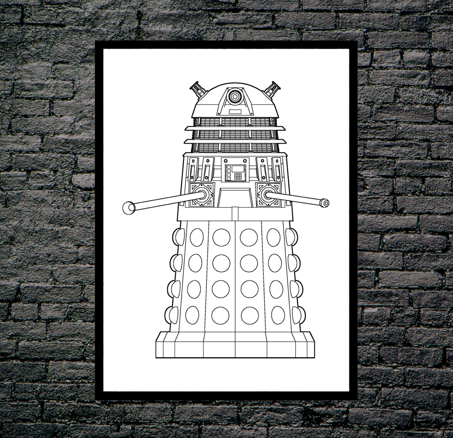 Doctor who dalek patent dr who dalek poster dalek blueprint doctor who dalek patent dr who dalek poster dalek blueprint dalek print dalek art dalek decor doctor who wall art p095 malvernweather Choice Image