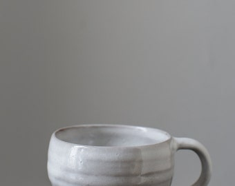 Stoneware Mug in White