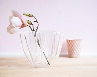 Acrylic vase | Vintage | 70s