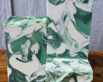 Clover and Aloe Soap, soap,  handmade,  homemade,  natural, artisan,  lather up naturally