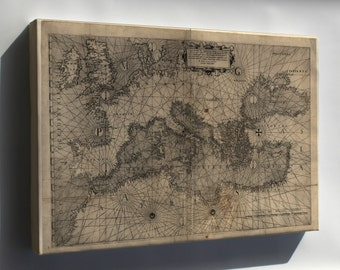 Canvas 24x36; Map Of Europe 1572