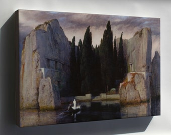 Canvas 24x36; Isle Of The Dead By Arnold Bocklin
