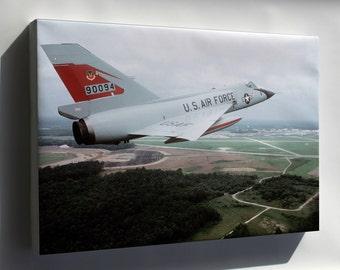 Canvas 16x24; F-106 Delta Dart  P2