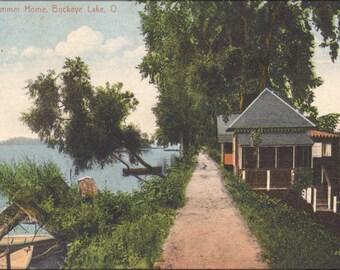 16x24 Poster; A Summer Home, Buckeye Lake, O. 12660103565