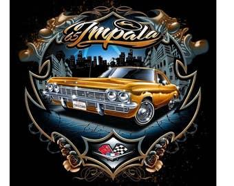 1965 Chevrolet Impala Custom Made T-shirt