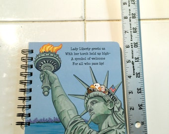 Blank Journal or Sketch Book - Upcycled Children's Book