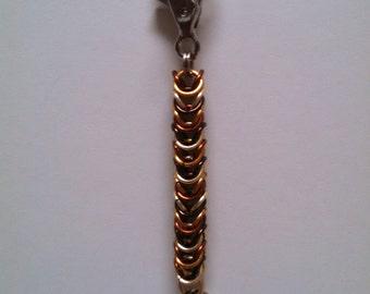 Box Chain Chainmail Keychain