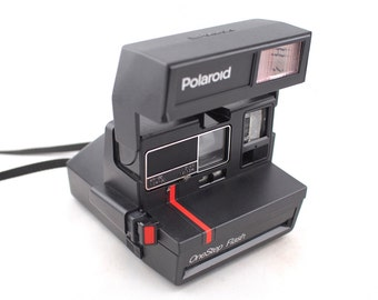 Vintage Polaroid Onestep Flash Camera, Instant Photography