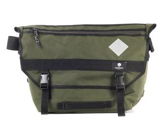 Messenger bag, Waterproof Cycling Bag, Lightweight, Messenger Courier Khaki  / To order