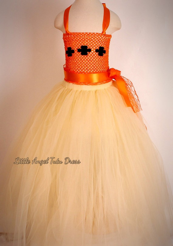 Disney Moana Crochet Top Tutu Dress