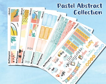 Pastel Abstract 6-Sheet Collection