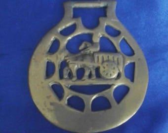 Horsebrass Horse and Cart Horse Brass
