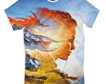 T-shirt fullprint Horizon Zero Dawn