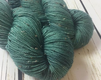 Harris Sock / Fir / Superwash Merino-Tweed